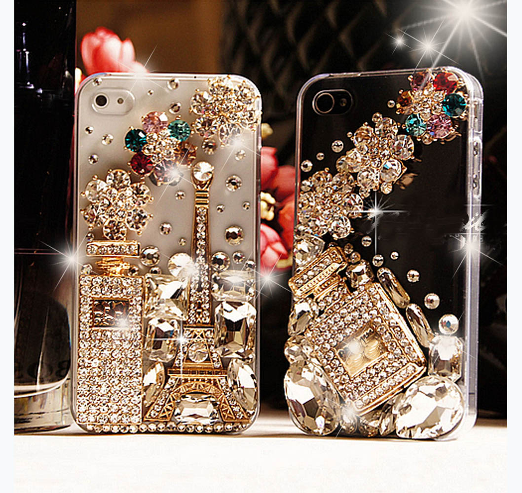 iPhone 5 case, iPhone 5S case, iPhone 4 case, Bling iphone 5 case eiffel tower